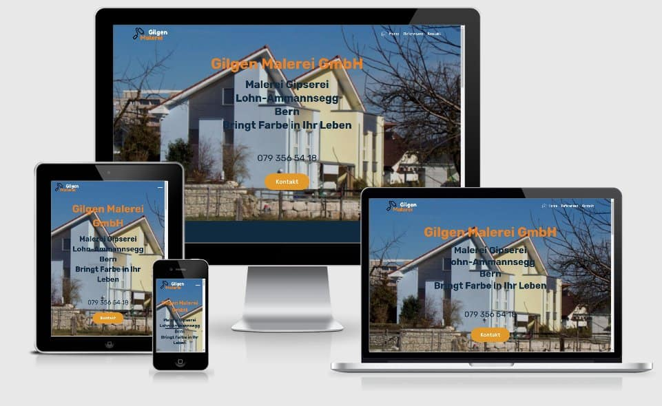 homepage gilgen-malerei