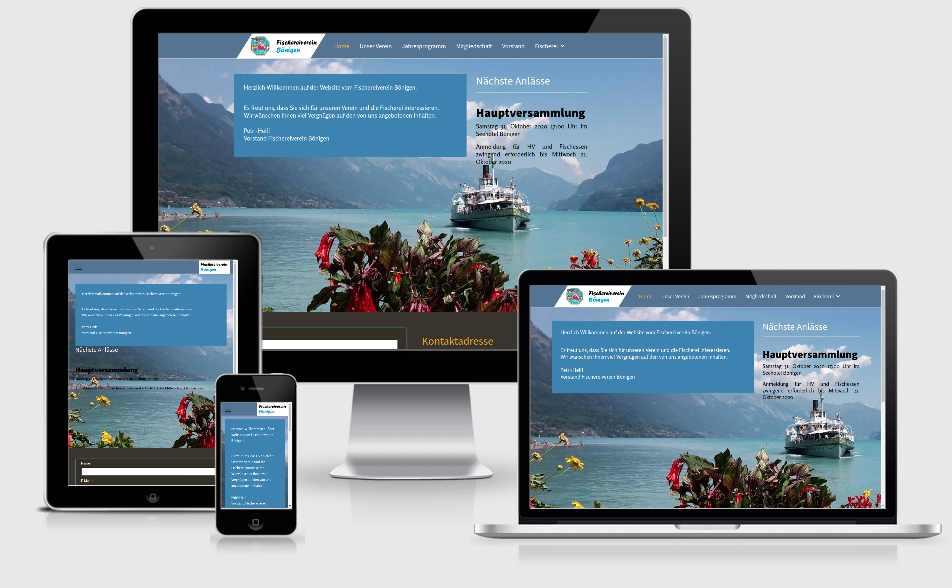 website für verein